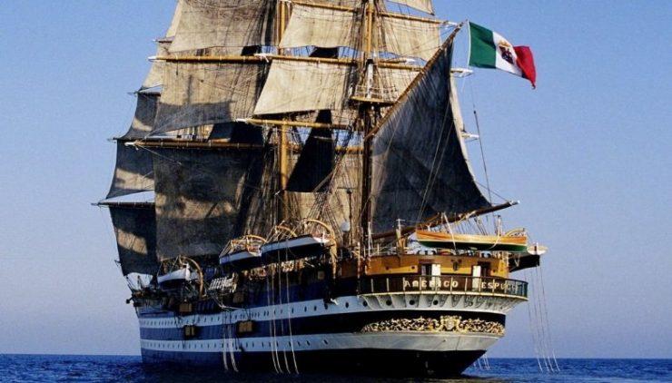 Diario di bordo da Nave Vespucci